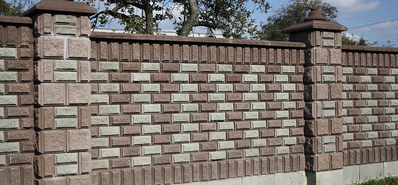 Картинки забор из блоков